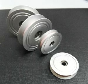 Metal Ceramic Coating Pulley D110*H20mm for Wire & Cable Industries pictures & photos