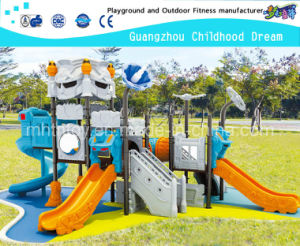 Amusement Park Robot Modeling Slides Outdoor Playground for Sale (HA-06701) pictures & photos