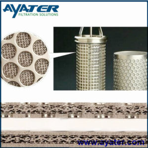 5 Layer Stainless Steel 316L Sintered Wire Mesh Filter pictures & photos