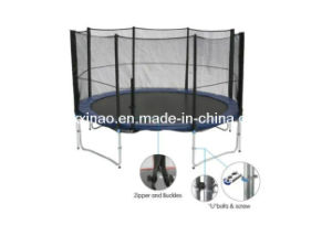 12ft Bungee Jumping Trampoline with Safety Enclosure (XA1058)