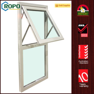 Awa Member Pvcu Double Glazing Awning Window Design pictures & photos