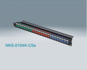 24 Port RJ45 Cat5e UTP Patch Panel (NKS-0104K-C5e)