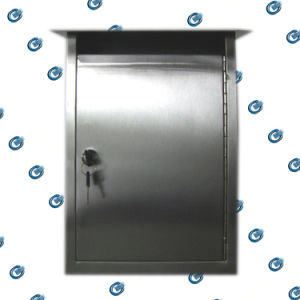 Stainless Steel Mailbox for Department (HS-MB-003) pictures & photos