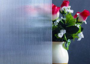 3-8mm Wick Patterned Glass with CE&ISO9001