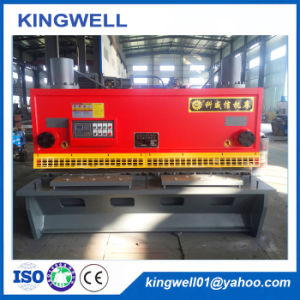 China Top Quality Hydraulic Plate Shearing Machine (QC11Y-16X2500) pictures & photos