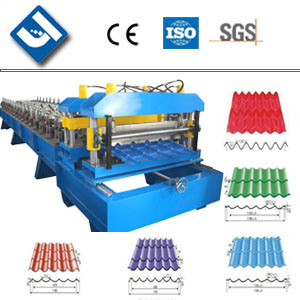 YTSING-YD-0037 Passed CE and ISO Authentication Glazed Tile Roll Forming Machine