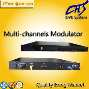DVB-C QAM IP Modulator with Multiplex Funtion (HT100-31)