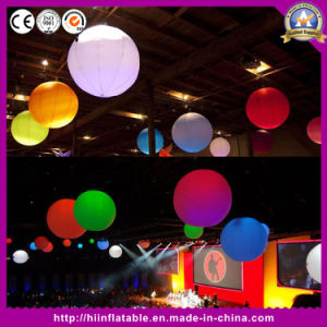 New! ! Attractive Christmas Decoration Inflatable Ball with LED Lights