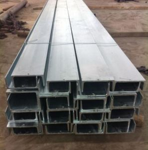 Hot DIP Galvanized H Beam Retaining Wall Steel Post pictures & photos