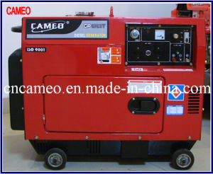 Cp6700t-5kw Single Phase Diesel Generator Portable Diesel Generator Air Cooled Generator Single Phase Diesel Silent Generator pictures & photos