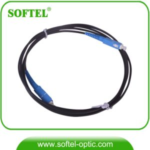 SC/PC FTTH Drop Cable Outdoor Optical Fiber Patch Cord pictures & photos