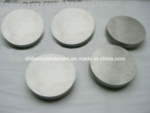 High Purity Polished Molybdenum Round Disc pictures & photos