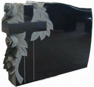 Black Granite Crosses for Monument (BF-0625-16)