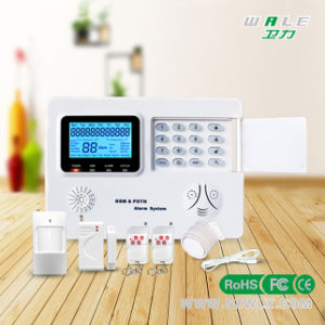 Wireless Home Alarm System with GSM/PSTN Dual-Network System pictures & photos