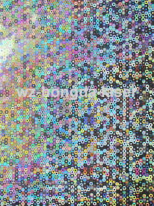 Holographic Material for Sequin
