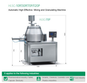 Automatic High Effective Mixing and Granulating Machine( pictures & photos