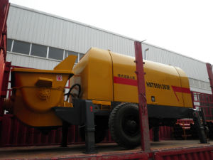 Concrete Trailer Pump (HBTS50-13-92R)