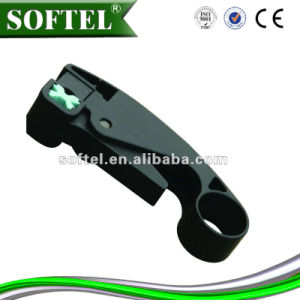 Cable Stripping Tool RG6 Coaxial Cable Stripper pictures & photos