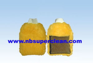 New Style Berber Fleece Car Wash Glove (CN1254) pictures & photos