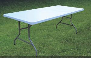 200*90cm Inch Banquet Plastic Folding Table pictures & photos