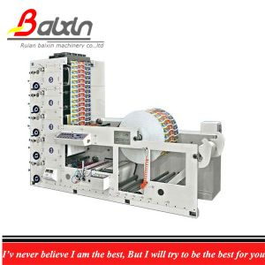 Flexo Roll Paper Cup Printing Machine 4-Color pictures & photos