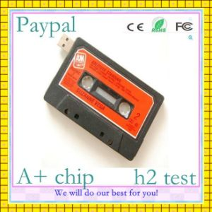 Safe Payment Cassette Tape USB Flash Drive (GC-h66) pictures & photos