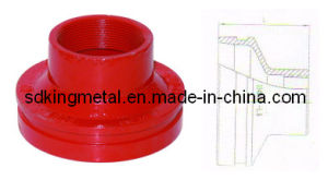 Ductile Iron 300psi Nptthreaded Reducer pictures & photos