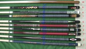 Pool Cue Maple Wood Billiard Cue 1/2 Pool Cue