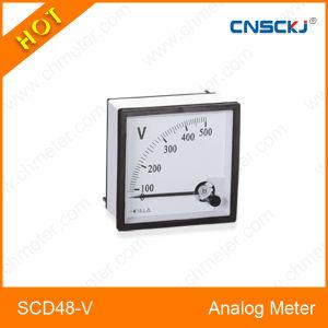 Scd48-V Best 48*48 Analog Panel Voltage Meter