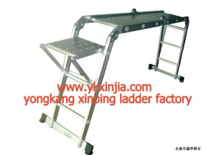 Aluminium Folding Ladder (XP-403)