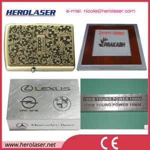 Germany Samlight Marking Card Ipg Deep Layered Fiber Metal Laser Engraving Machine pictures & photos