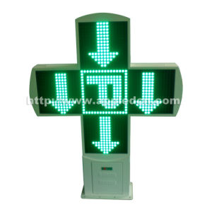 LED Pharmacy Cross Sign (New Model)