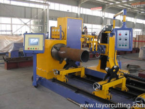 800mm Pipe Bevel Cutting Machine Pipe Profile Plasma Cutting Machine pictures & photos