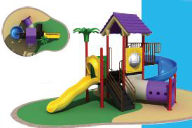 Outdoor Playground (H-10802) pictures & photos