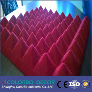 3D Wall Decoration Polyester Fiber Acoustic Panel pictures & photos