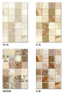 Building Material 250X400 Inkjet Bathroom Glazed Ceramic Wall Tile with New Design pictures & photos