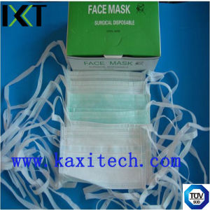 Surgical Face Mask Ready Made Supplier for Medical Protection Ear Loop Tied Cone Types Kxt-FM02 pictures & photos
