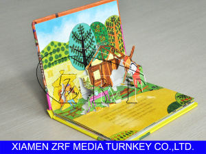 Professional Pop-up Folding Books Printing Service pictures & photos
