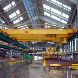 Overhead Magnet Crane pictures & photos