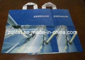 Die Cut Plastic Handle Shopping Corn Starch Bag pictures & photos