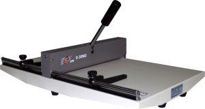Manual Paper Creasing Machine Round Slot 350mm (C-35M2) pictures & photos