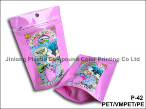 Zipper Pet Food Packaging Bag pictures & photos
