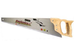 Handsaw With Wooden Handle