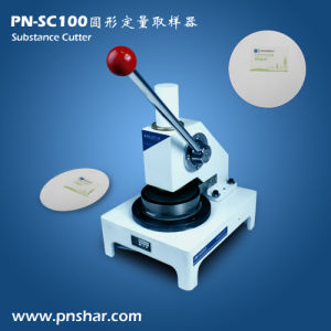 Paper Circular Sample Cutter (PN-SC100) pictures & photos