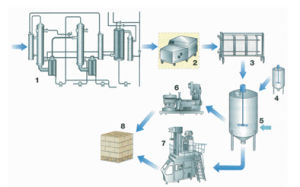 Process Line for Condensed Milk