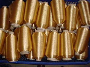 Polyester Metallic Thread, Metallic Yarn, Lurex Yarn.