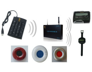 Wireless Waiter Paging System for Kitchen Call Waiter System