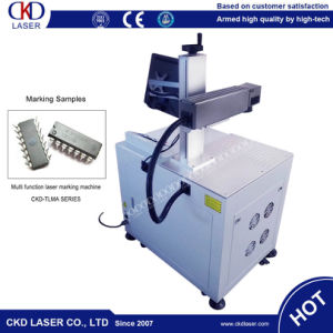 Ce Logo Series Number Marking System Machine Laser From Factory Directly pictures & photos
