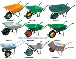 Mineral Steel Sack Barrow Wheelbarrows Wb3800 pictures & photos