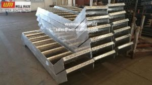 Accecss Scaffolding Step Ladder Aluminium Scaffold Stair pictures & photos